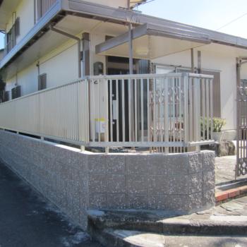 M様邸ブロック塀改修工事